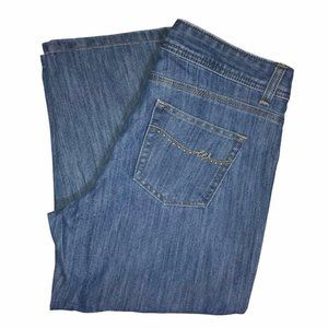 Wrangler Jeans High Rise Mom Capris 6M 22